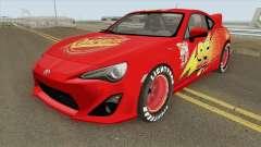 Toyota GT86 Mcqueen 2012 para GTA San Andreas