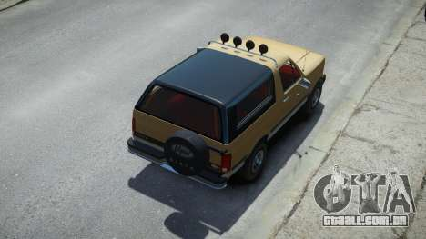 Vapid Riata Classic para GTA 4