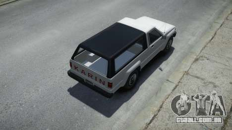 Karin Rebel Pickup 2WD para GTA 4