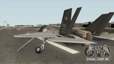 Lockheed Martin F-35A Lighting II para GTA San Andreas