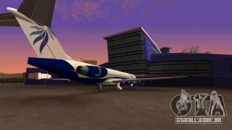 NordStar Airlines para GTA San Andreas