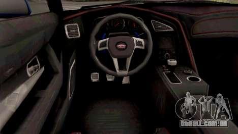 GTA V Vapid Dominator GT350R para GTA San Andreas