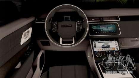Land Rover Range Rover Velar 2018 para GTA San Andreas