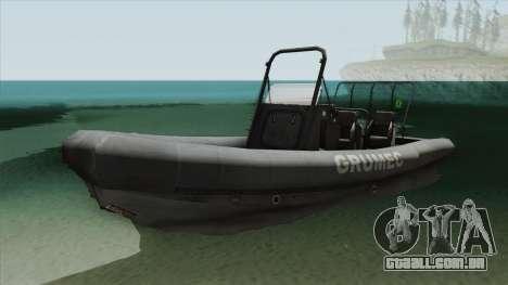 Bote EMB RHIB GRUMEC para GTA San Andreas