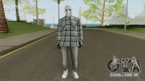 GTA Online Skin V2 para GTA San Andreas
