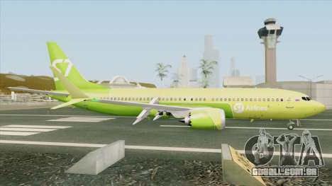 Boeing 737 MAX (S7 Airlines Livery) para GTA San Andreas
