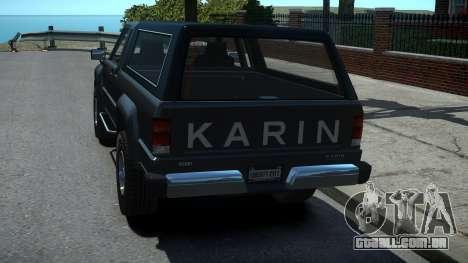 Karin Rebel Pickup XL para GTA 4