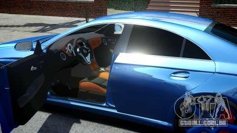 Mercedes-Benz CLS 63 AMG W219 para GTA 4