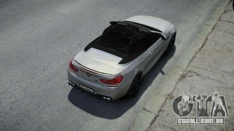 BMW M6 Convertible para GTA 4