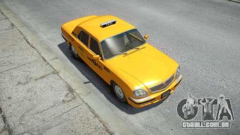 GAZ 31105 Volga Táxi de 2004, LC para GTA 4