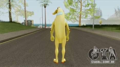 Banana From Fortnite para GTA San Andreas