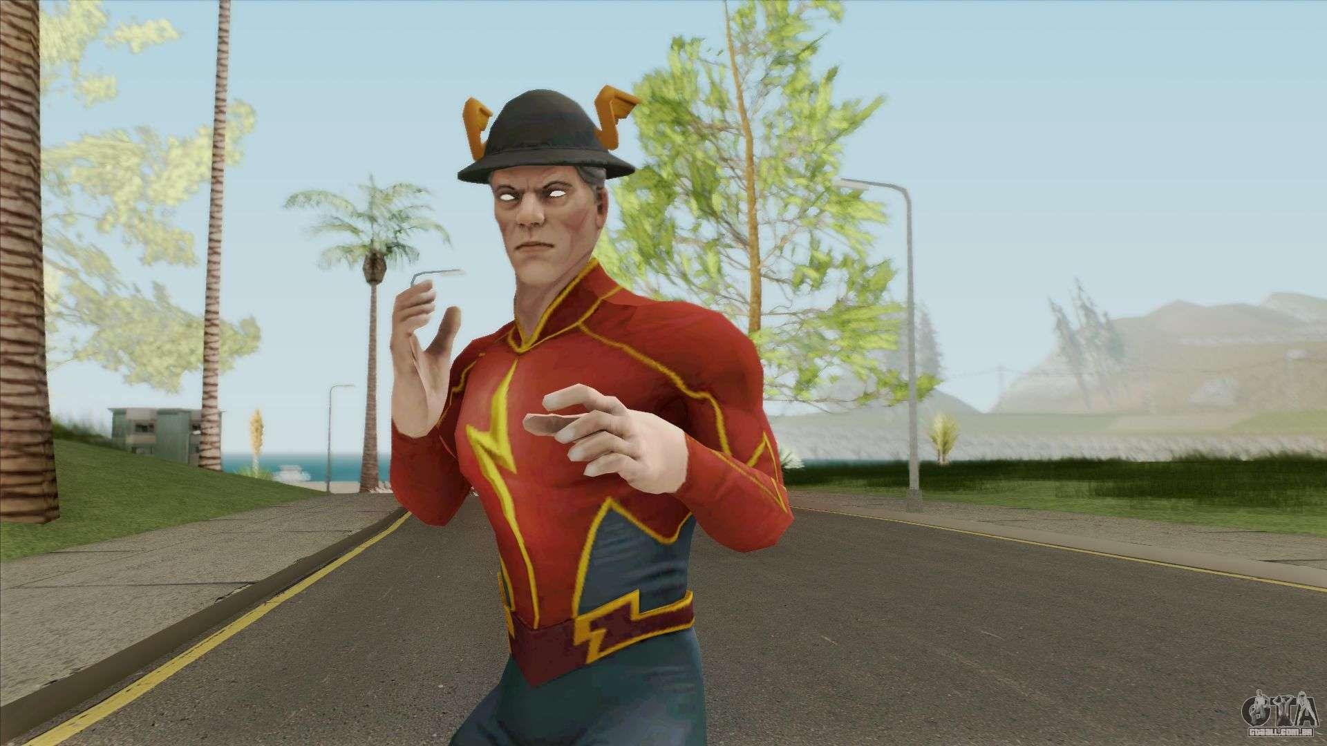 Jay Garrick Legendary Para GTA San Andreas