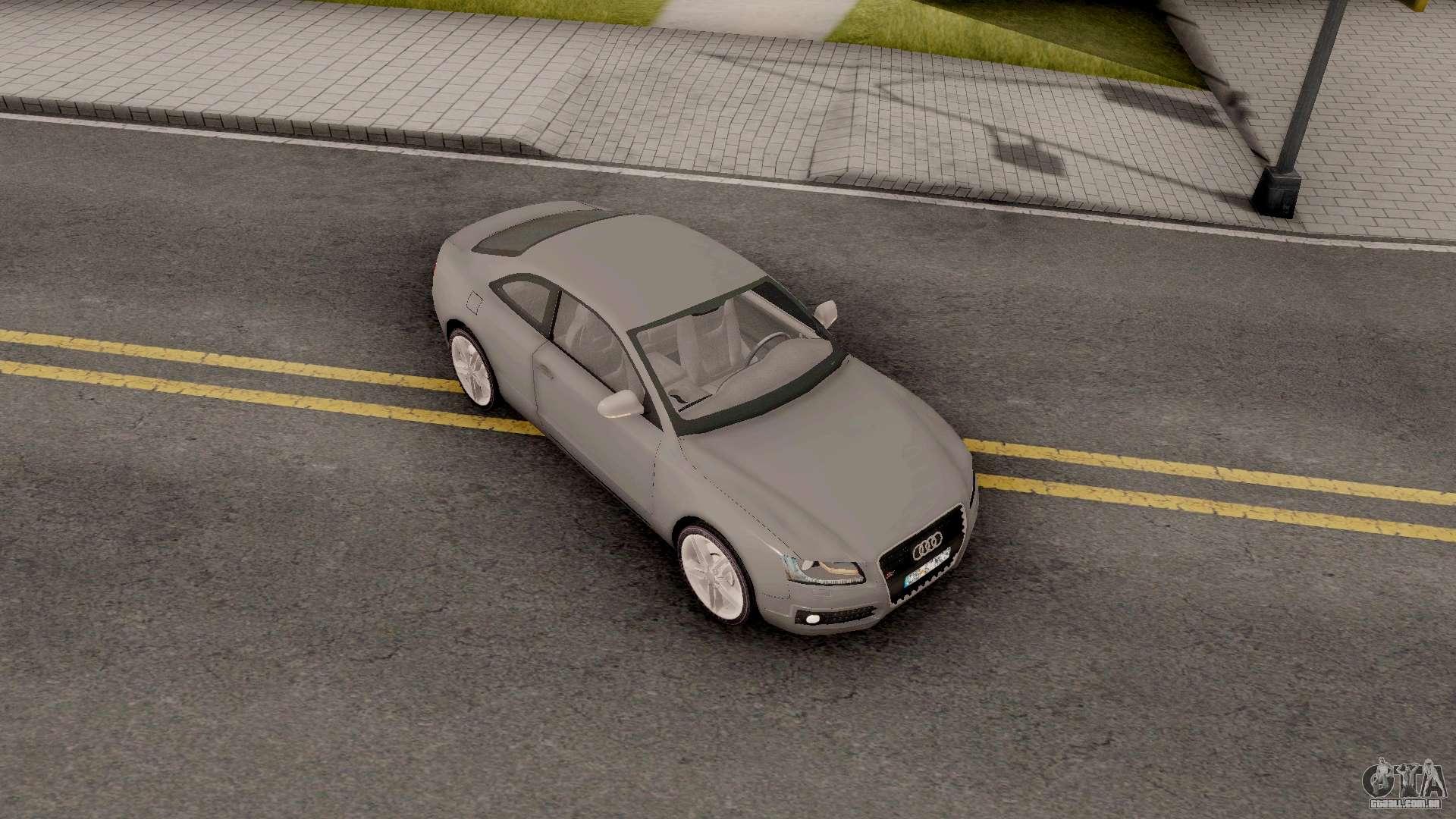 Audi S5 Romanian Plate Para GTA San Andreas