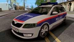 Skoda Octavia Polizei para GTA San Andreas