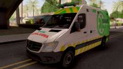 Mercedes-Benz Sprinter Ambulancia Argentina para GTA San Andreas