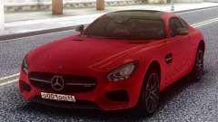 Mercedes-Benz Red AMG GT para GTA San Andreas