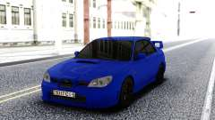 Subaru WRX STI 2004 Blue para GTA San Andreas