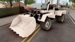 Bulldozer from GTA VCS para GTA San Andreas