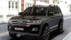 Toyota Land Cruiser 200 Black para GTA San Andreas