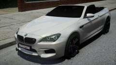BMW M6 Convertible White para GTA 4