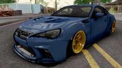 Subaru BRZ 2014 Aimgain Custom para GTA San Andreas