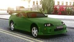 Toyota Supra Green para GTA San Andreas