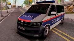 Volkswagen Transporter T6 Osterreich Polizei para GTA San Andreas