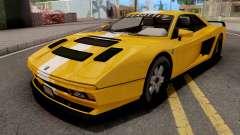GTA V Grotti Cheetah Classic Coupe para GTA San Andreas