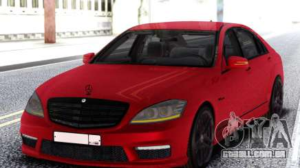 Mercedes-Benz S65 AMG Red para GTA San Andreas