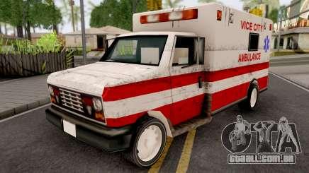 Ambulance from GTA VCS para GTA San Andreas