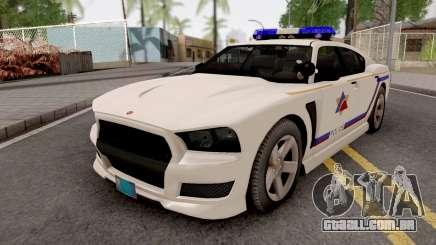 Bravado Buffalo 2013 Hometown PD Style para GTA San Andreas