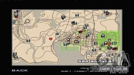 RDR2 Map Styled para GTA San Andreas
