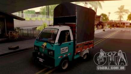 Suzuki Carry Con Estacas para GTA San Andreas
