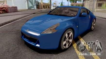 Nissan 370Z Blue para GTA San Andreas