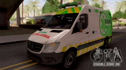 Mercedes-Benz Sprinter Ambulancia Argentina para GTA San Andreas