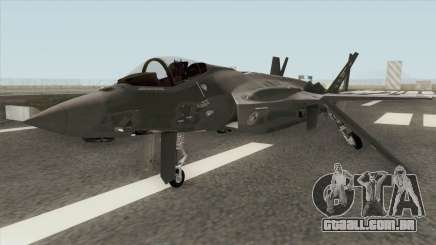 Lockheed Martin F-35A Lighting II Gray para GTA San Andreas