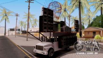 GTA V Vapid Festival Bus para GTA San Andreas