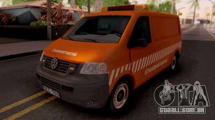Volkswagen Transporter T5 Utkarbantartas para GTA San Andreas