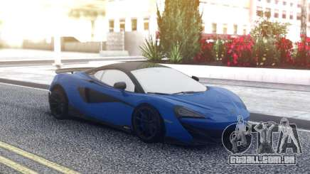 McLaren 600LT 2018 Blue para GTA San Andreas