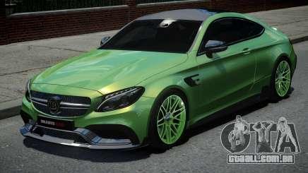 Mercedes-Benz C63 Brabus para GTA 4