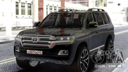 Toyota Land Cruiser 200 Black para GTA San Andreas