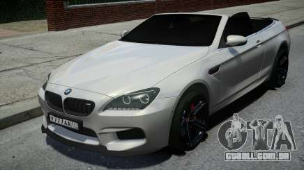 BMW M6 Convertible White para GTA 4