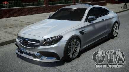 Mercedes-Benz C63 Brabus ENB Version para GTA 4