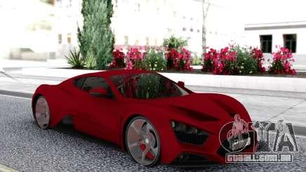 Zenvo ST1 para GTA San Andreas