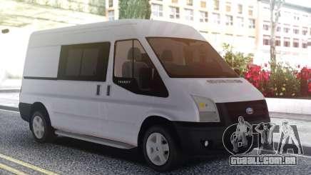 Ford Transit White para GTA San Andreas