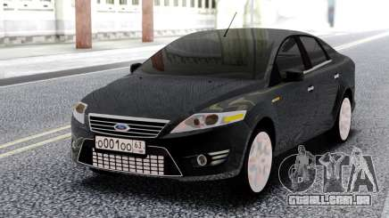 Ford Mondeo Sedan Black para GTA San Andreas