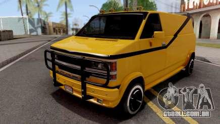 Chevrolet Express G-20 Van 1999 para GTA San Andreas