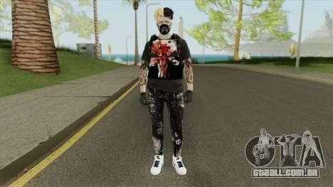 Skin Private Random para GTA San Andreas