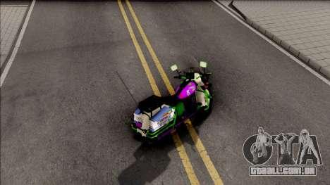 Soundwave Motorcycle para GTA San Andreas
