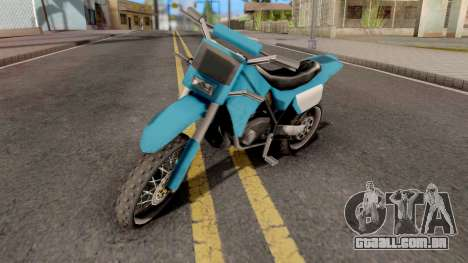Sanchez to Mountain Bike para GTA San Andreas